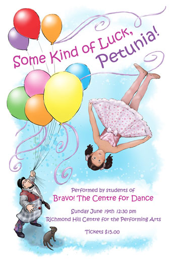 Some Kind of Luck Petunia - Bravo the Centre for Dance - recital programme
